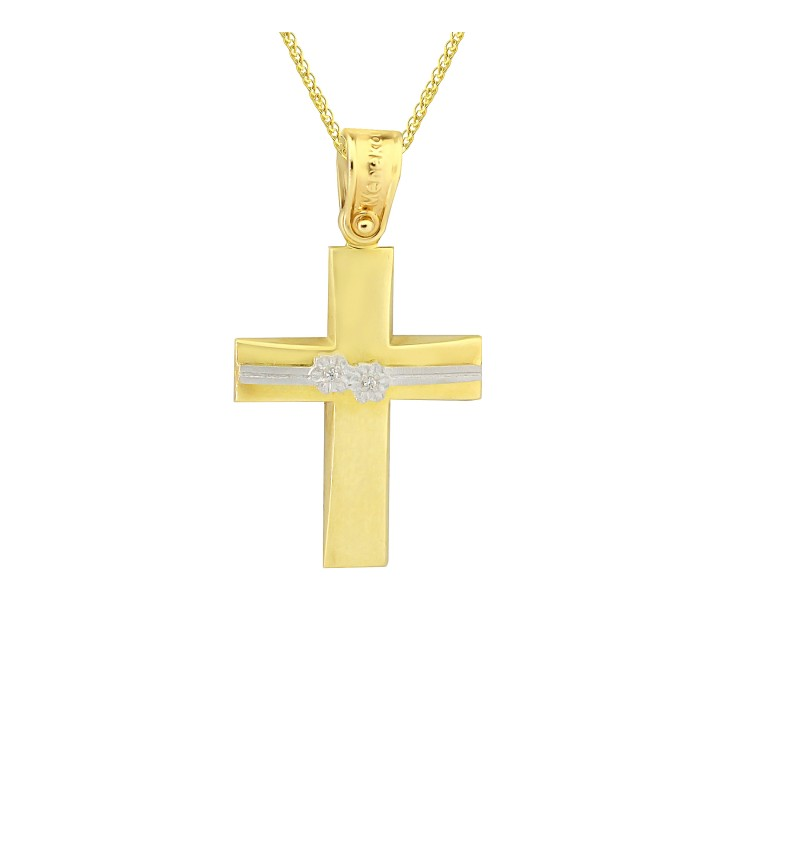 Gold cross 1119