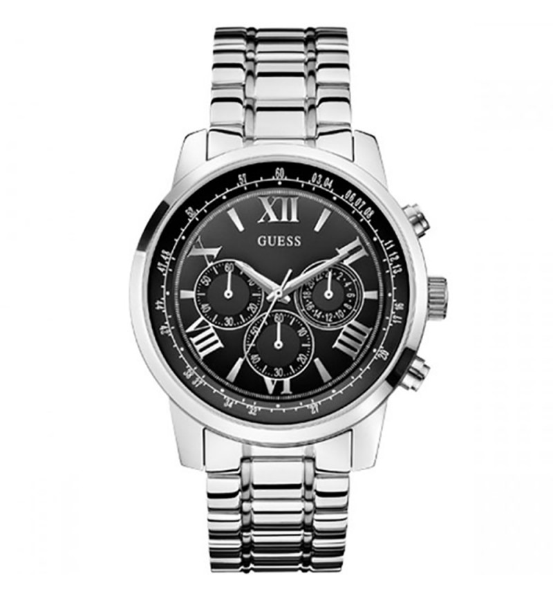 GUESS Horizon Stainless Steel Chronograph W0379G1