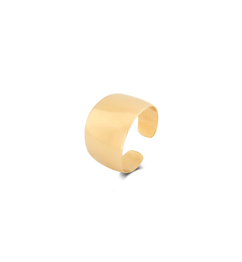 Mirror ring, the gold edition
