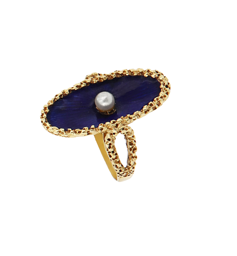 RING SHELL PEARL