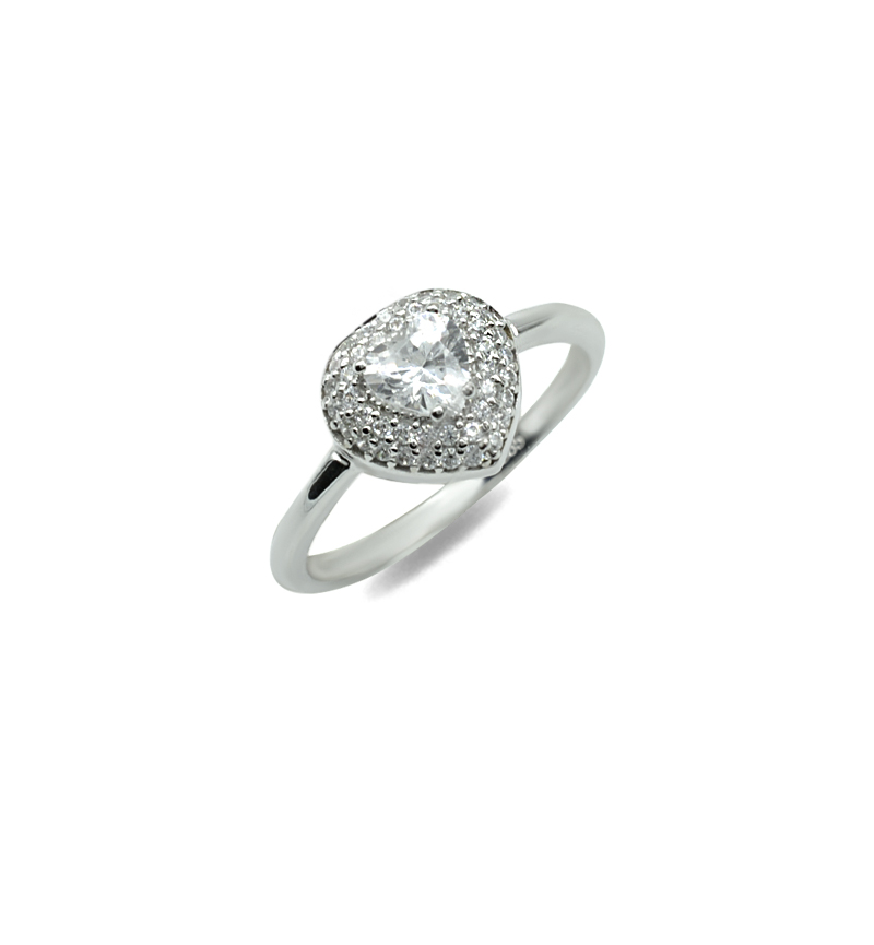 Ring with zircon 1105