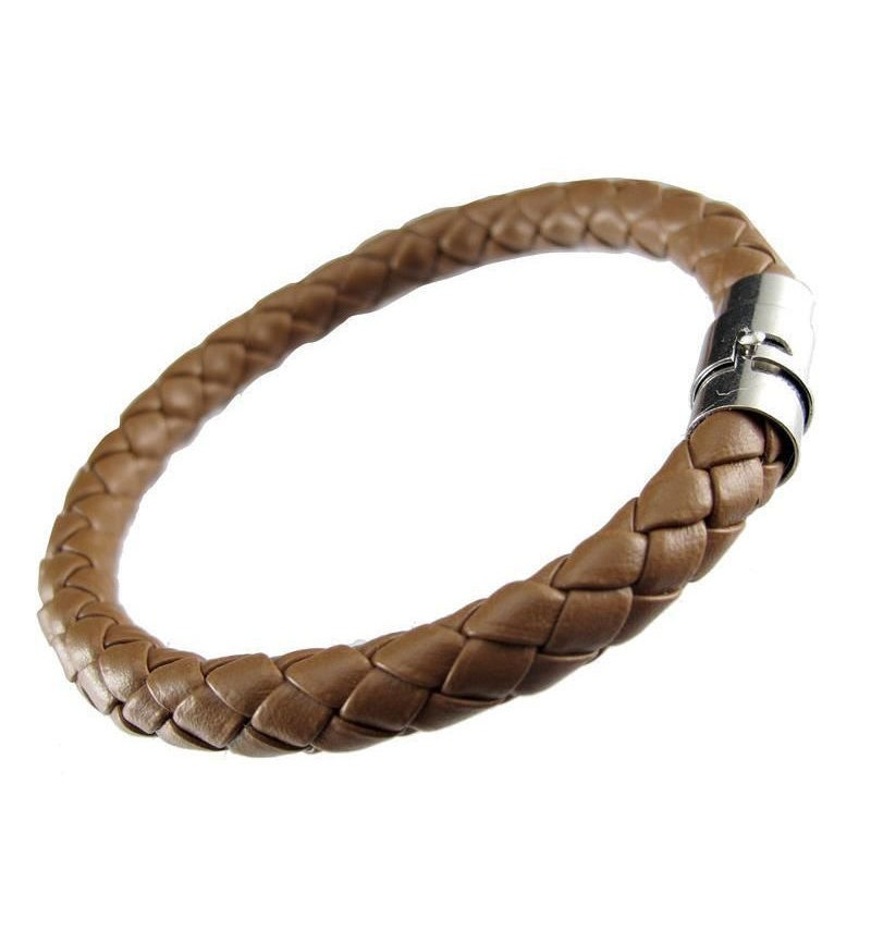 BRACELET KNITTED STYLE BROWN