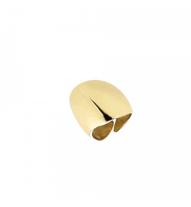 Mirror ring gold