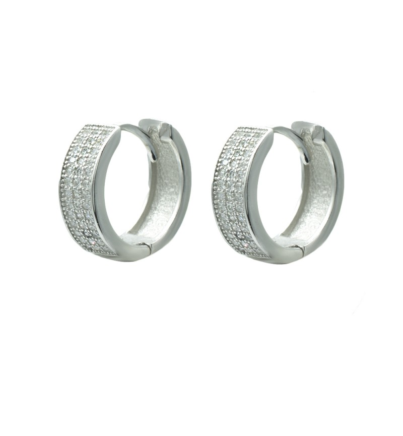 Hoops white zircon