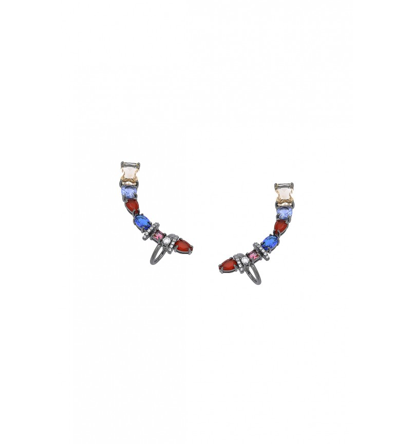 EARRINGS COLORFUL EARCUFFS