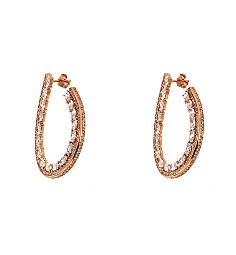 EARRINGS OVAL ROYAL