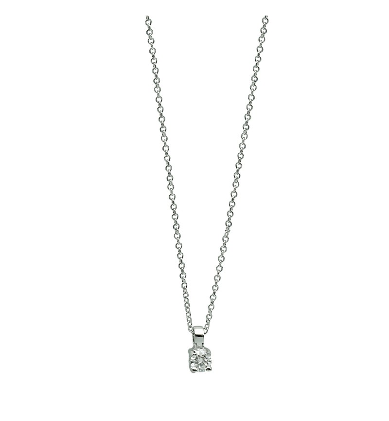 NECKLACE WHITE GOLD BRILLIANT