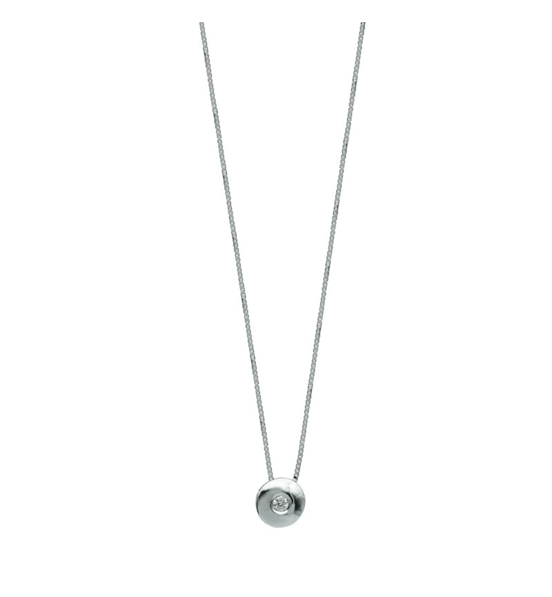 NECKLACE WHITE GOLD BRILLIANT 27
