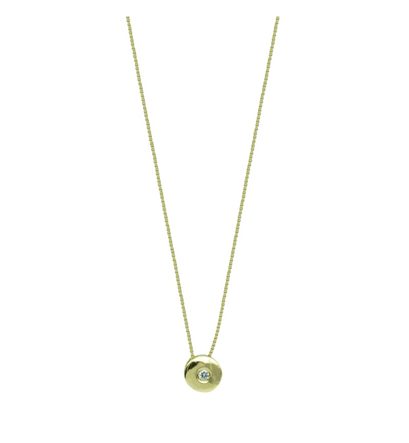 NECKLACE YELLOW GOLD DIAMOND