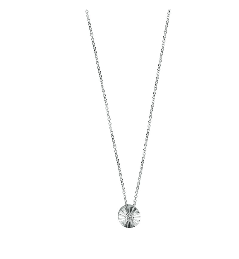 NECKLACE WHITE GOLD BRILLIANT 34