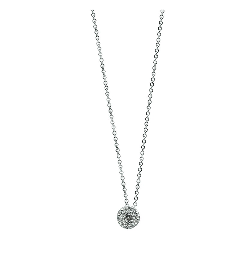 NECKLACE WHITE GOLD BRILLIANT 43