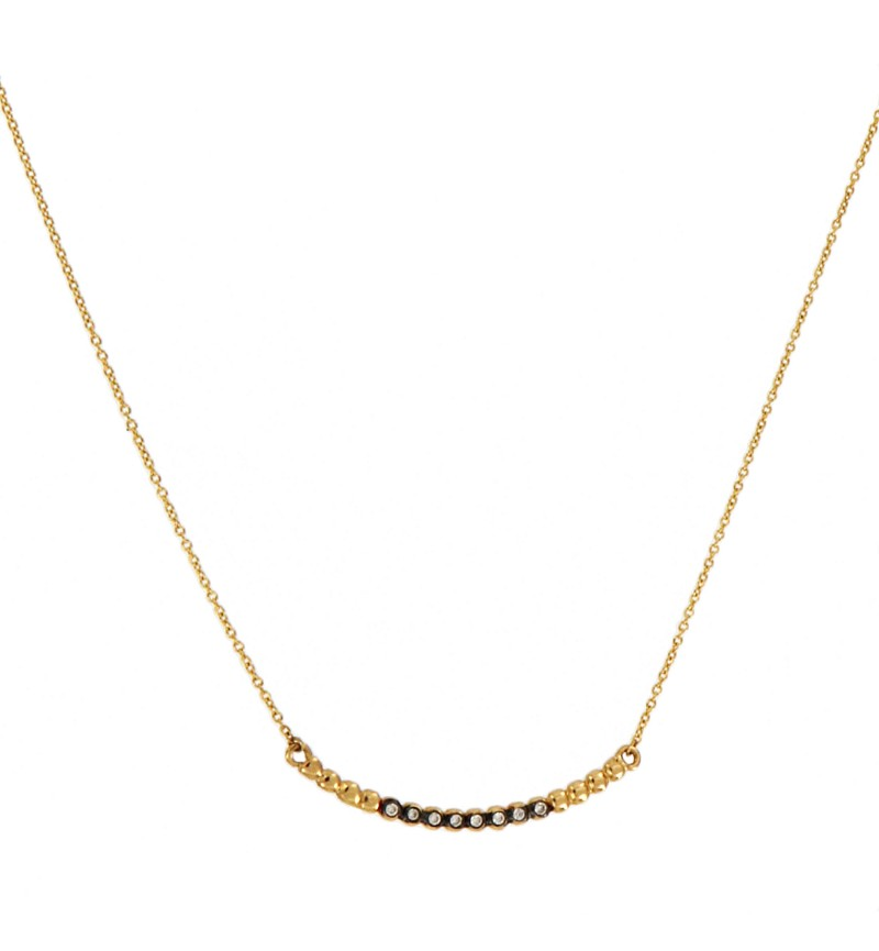 NECKLACE PRECIOUS DIAMOND BAR