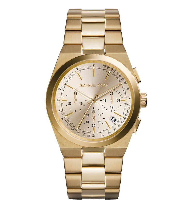 Michael Kors Channing Chronograph Gold Stainless Steel Bracelet MK5926