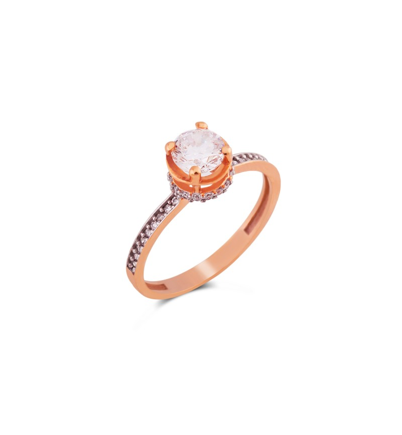 Solitaire ring 1028