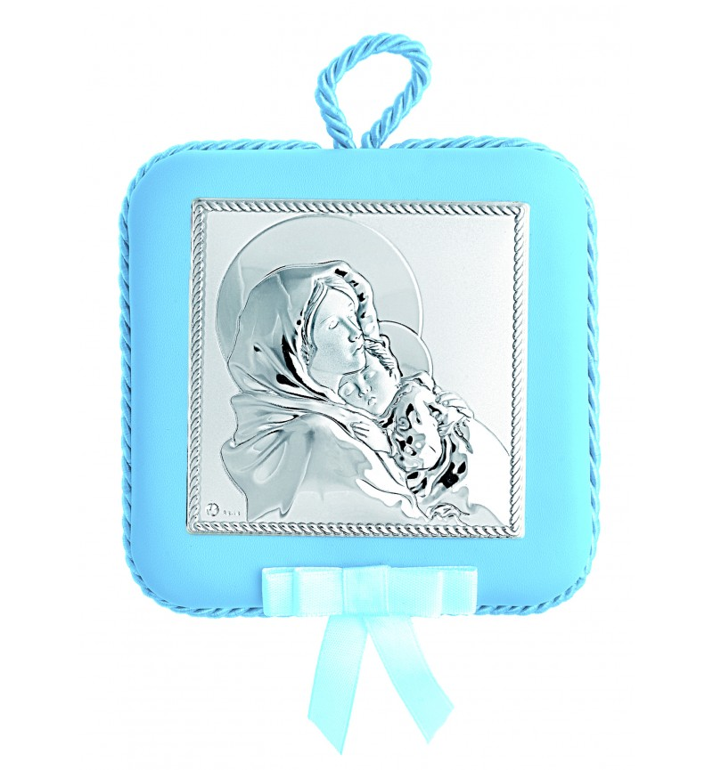 SILVER ORTHODOX ICON FOR BABY BOY MA-DM606LC