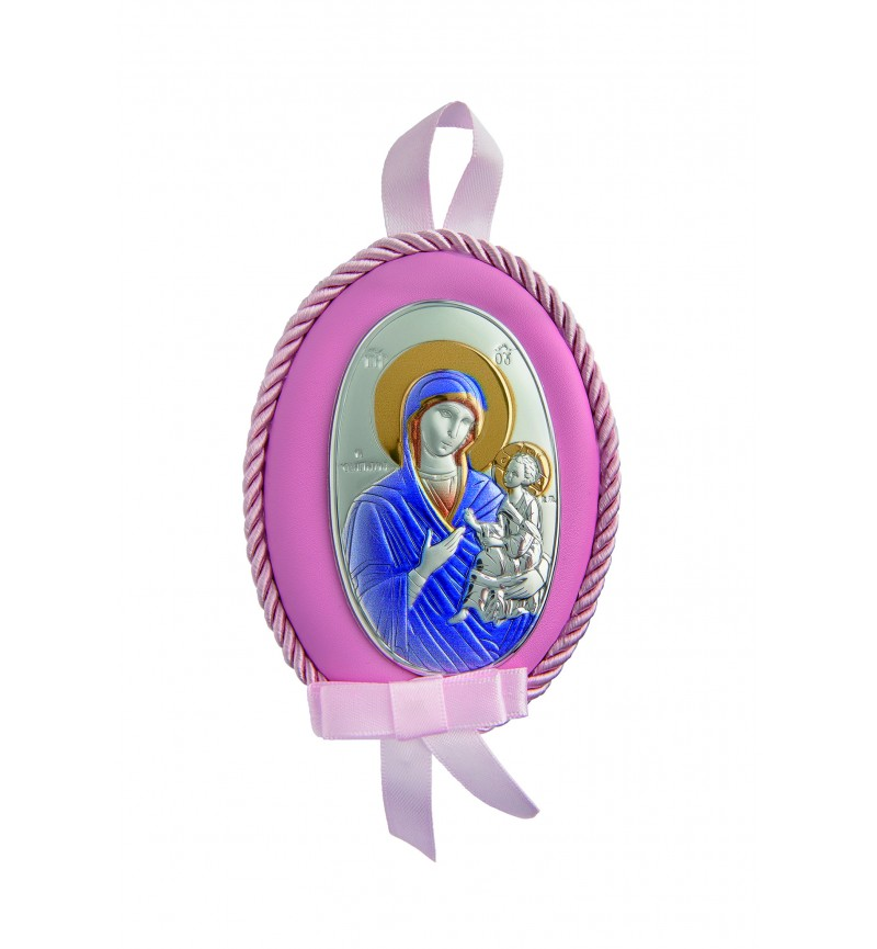 Silver Orthodox Icon for Baby Boy MA/D510RC