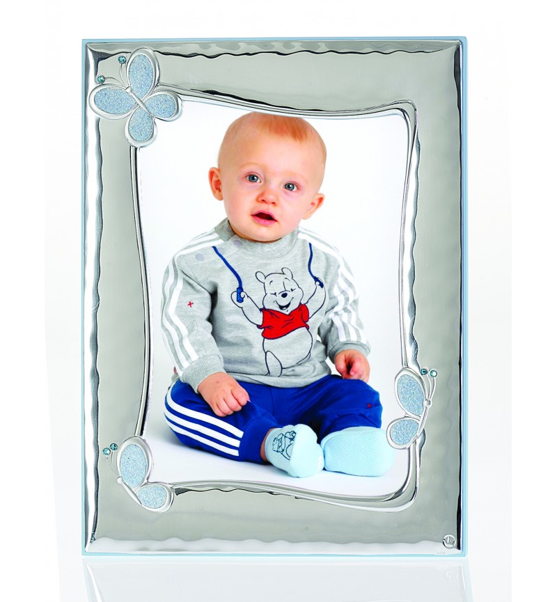 SILVER PHOTO FRAME FOR BABY BOY MB-125BC